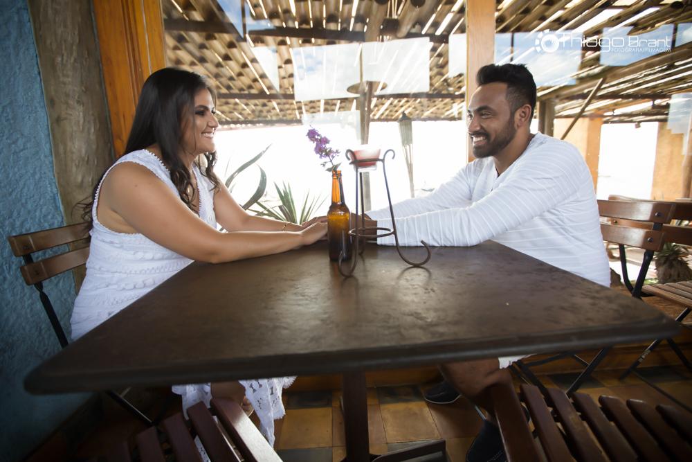 Foto de Polyana e Célio
