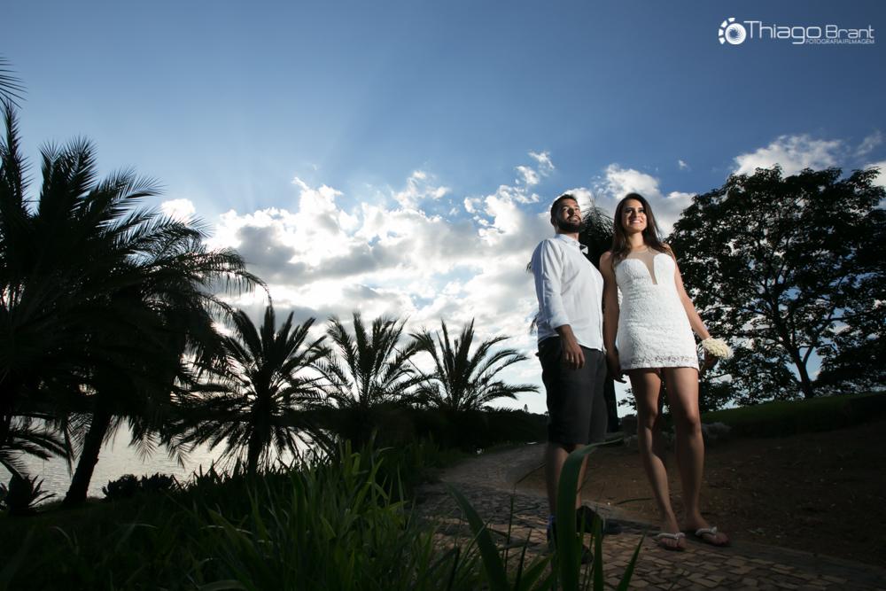 Foto de Bárbara e Vinicius