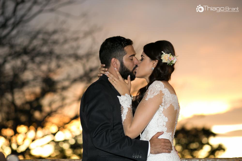 Foto de Bárbara e Vinícius