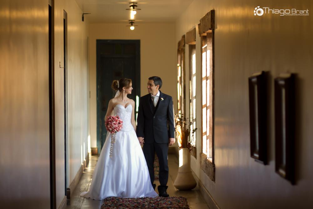 Foto de Liliane e Romildo