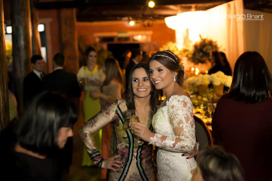 Foto de Melina e Gabriel