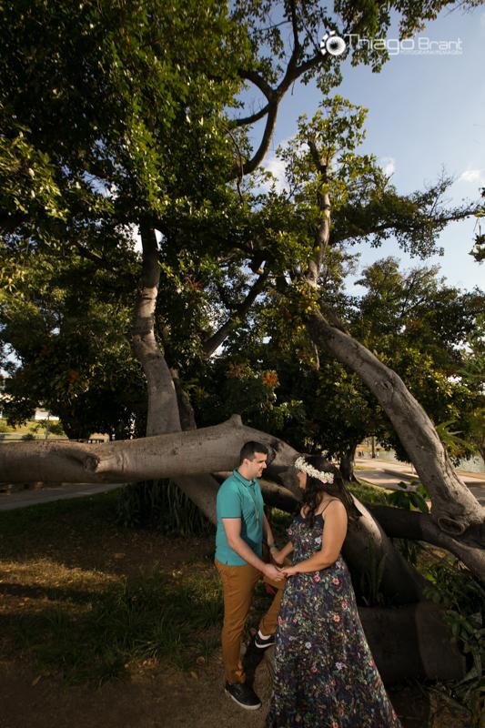 Foto de Nathalia e Daniel