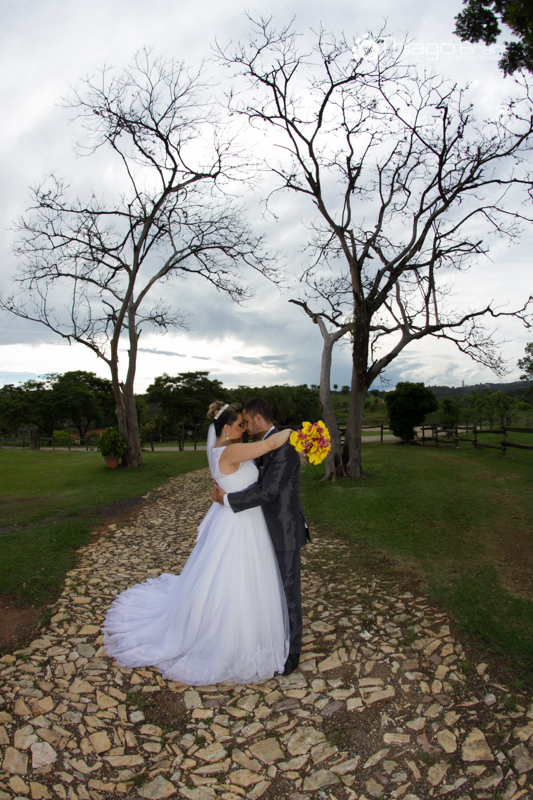 Foto de Aryane e Henrique