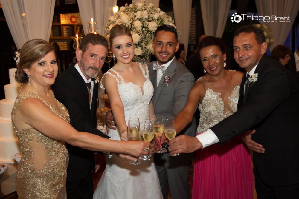 Foto de Tatiana e Rafael