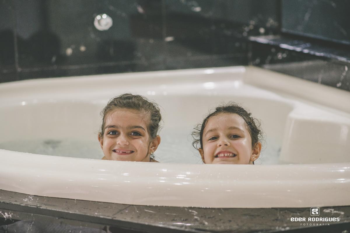 Daminhas na banheira