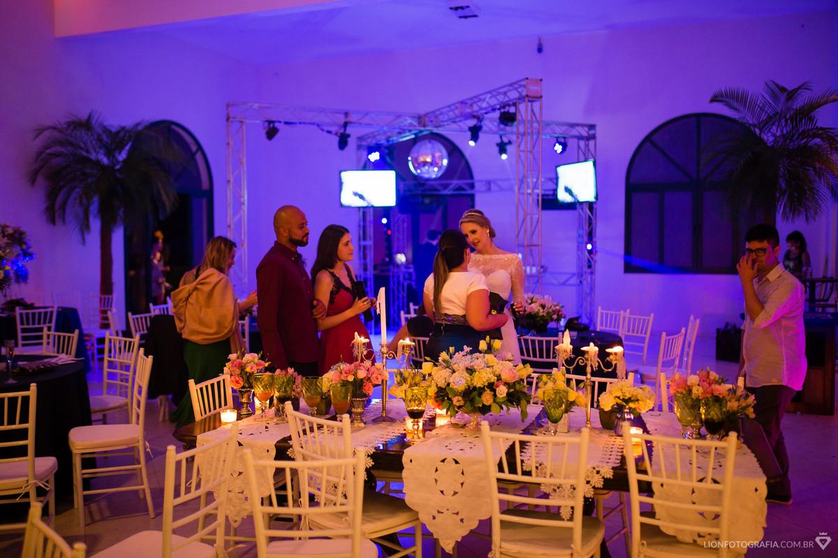 Agradecimento dos Convidados