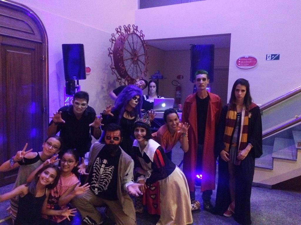 Foto de Halloween no Hotel