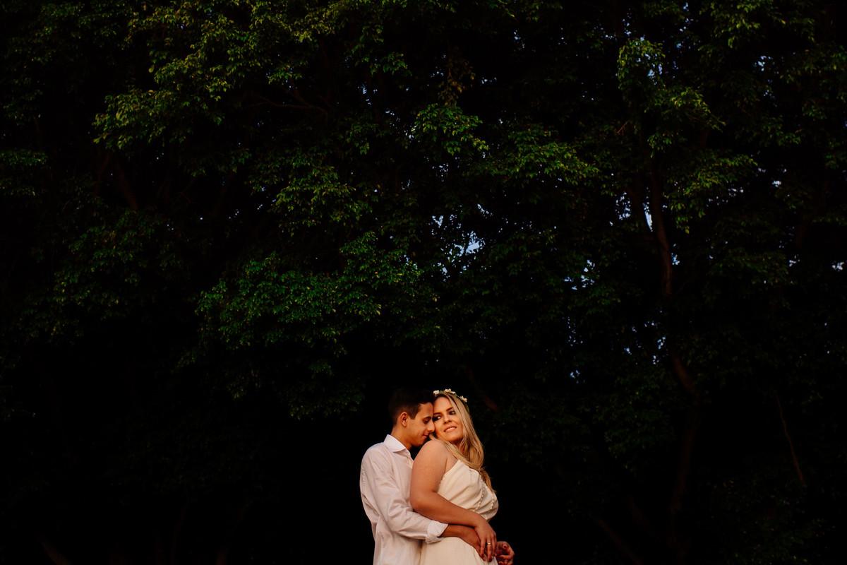 Foto de Karen e Andre