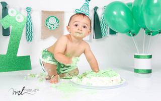 Smash The Cake de Leonardo- 1 aninho