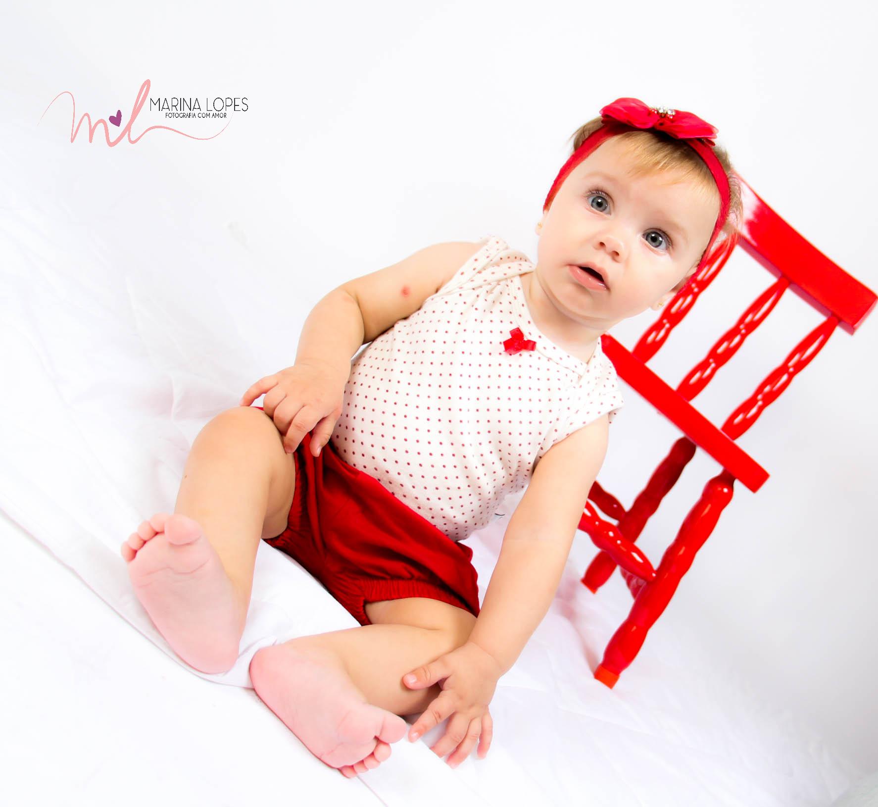 Catarina- 8 meses