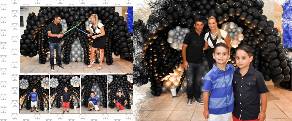 Foto de Aniversário Bernardo e Eduardo