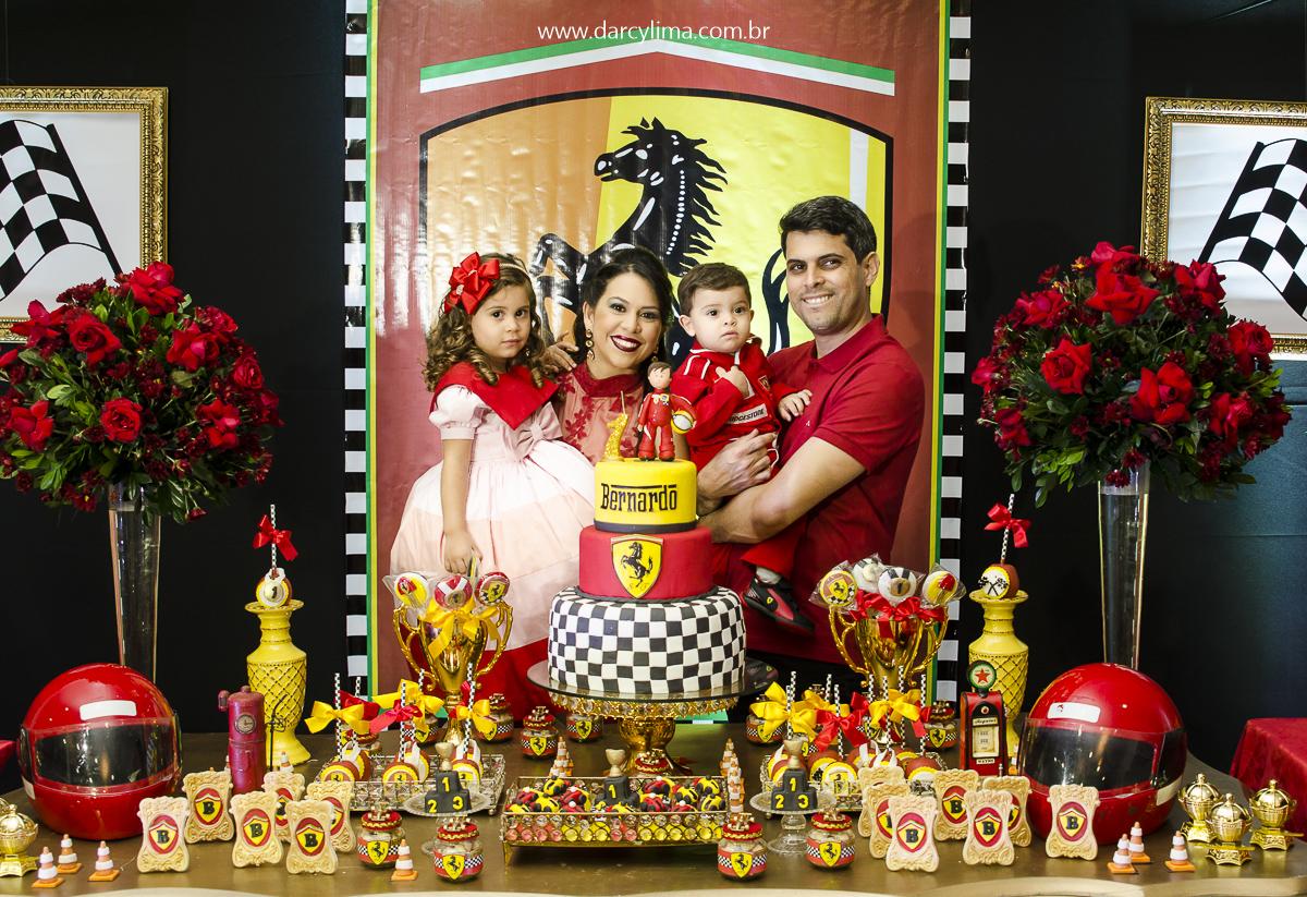 Retrato da familia de Bernardo