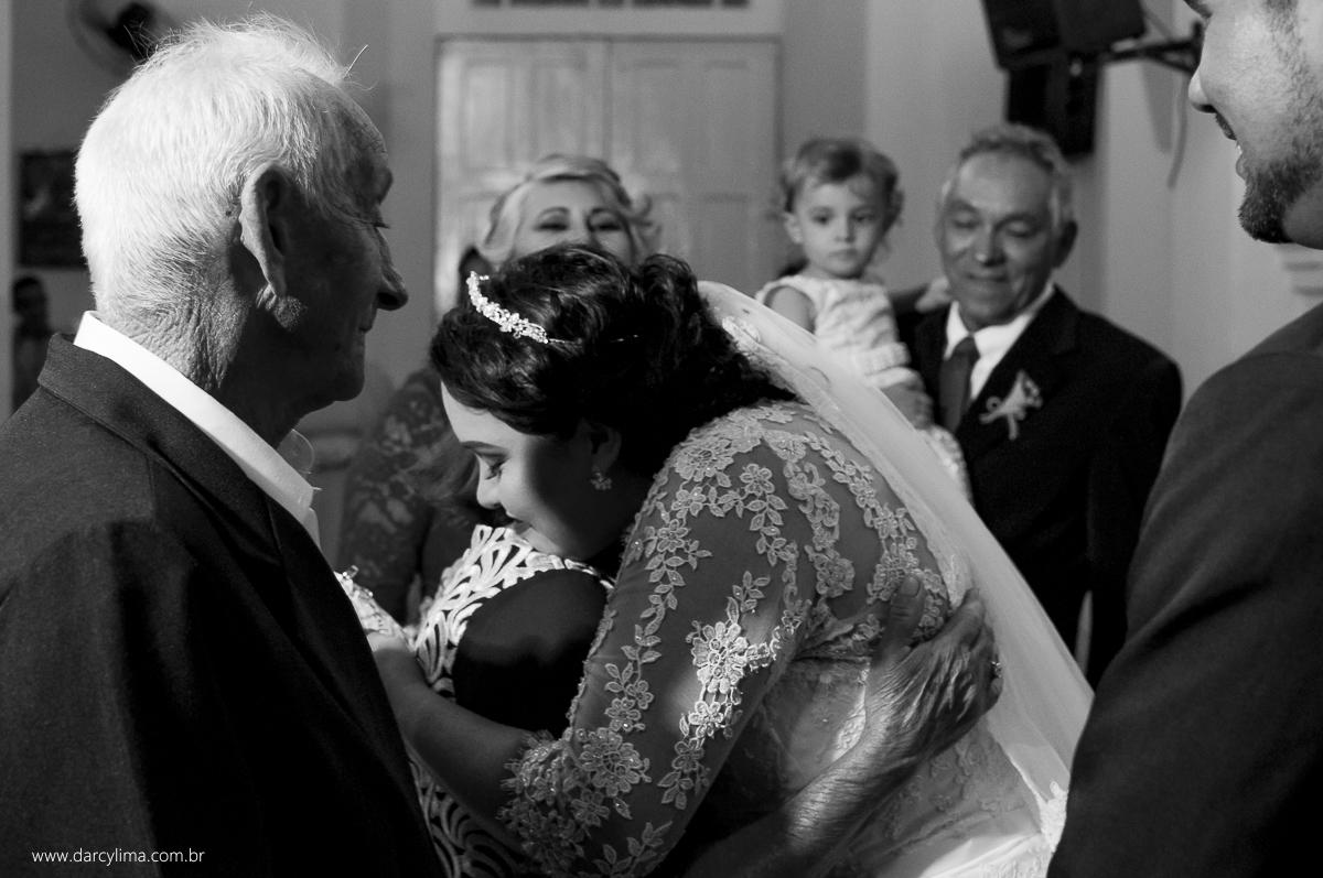 entrada dos avos da noiva