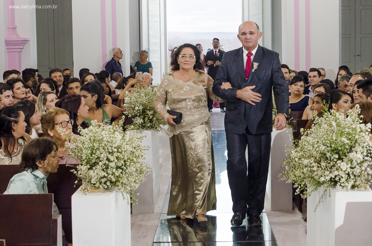 entrada do pai do noivo