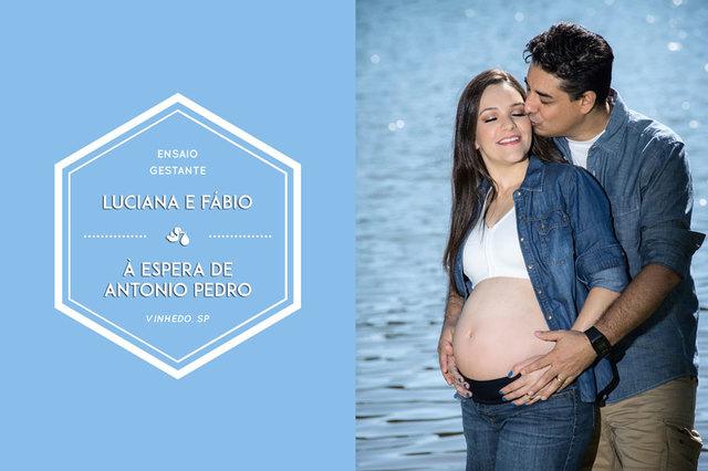 Gestantes de Ensaio Gestante | Luciana & Fábio à espera de Antonio Pedro | Vinhedo - SP