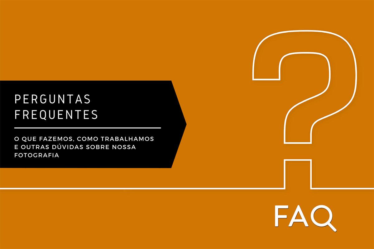 Imagem capa - FAQ | Perguntas Frequentes por Marcos Parodi Fotografia