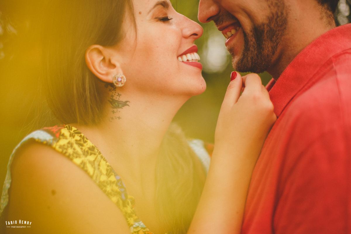 sorriso de apaixonados