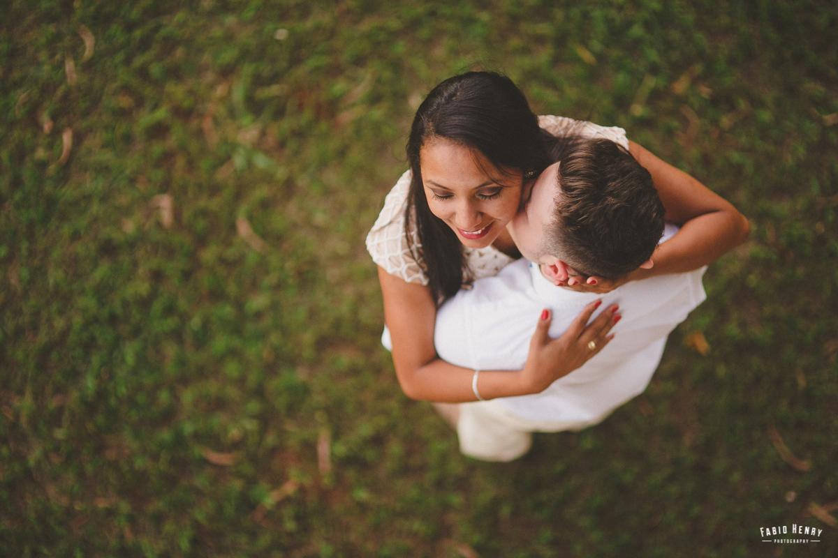 foto de cima romantica