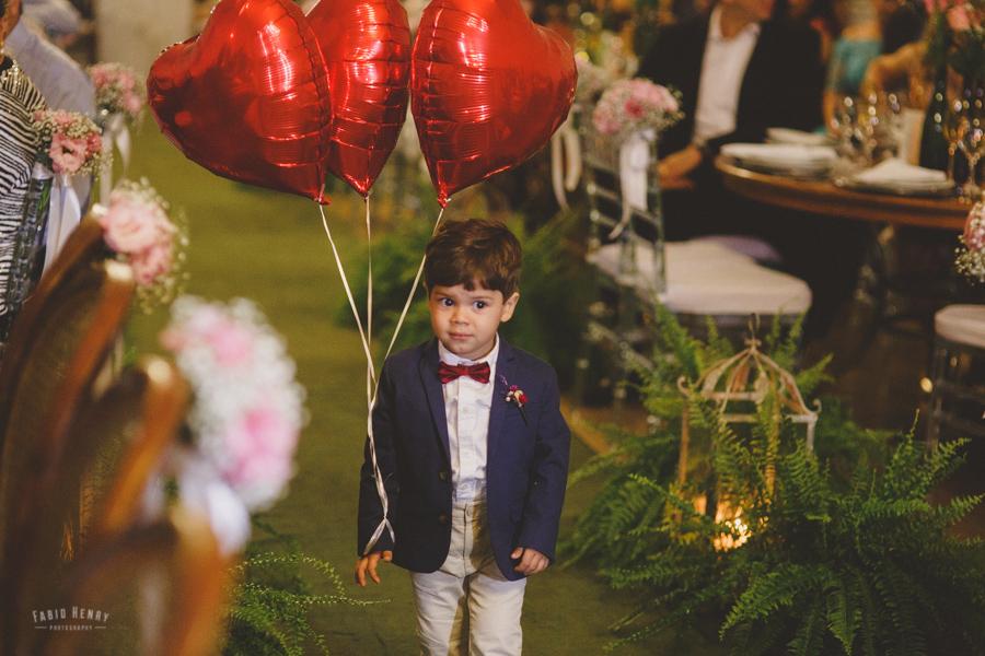 pajem com balões