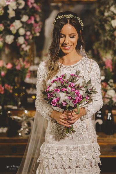 vestido de noiva único