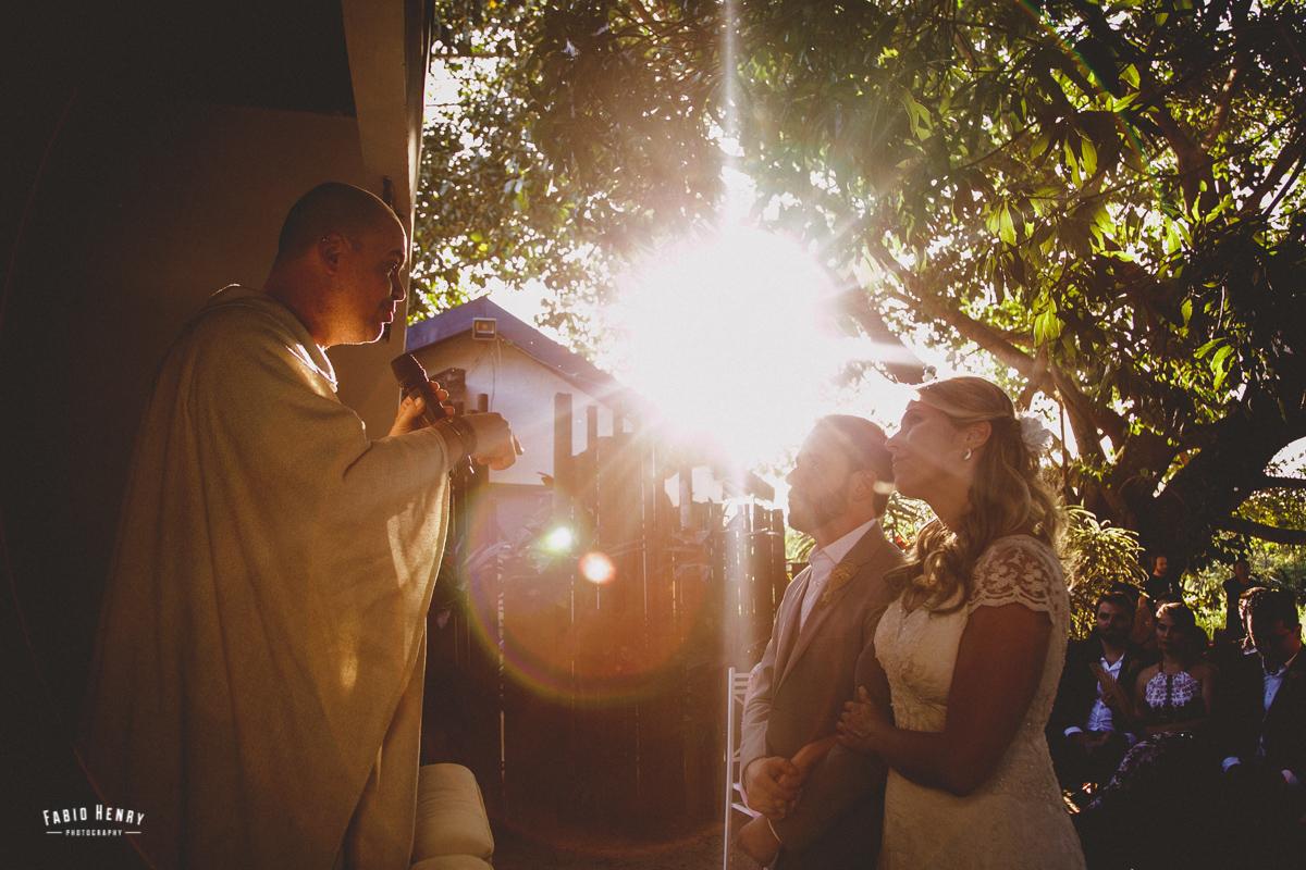 casamento com por do sol