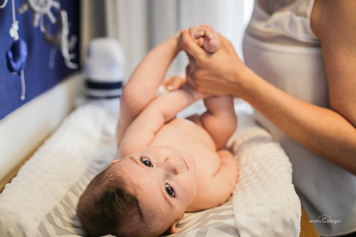 Foto de Arthur e seus 4 meses