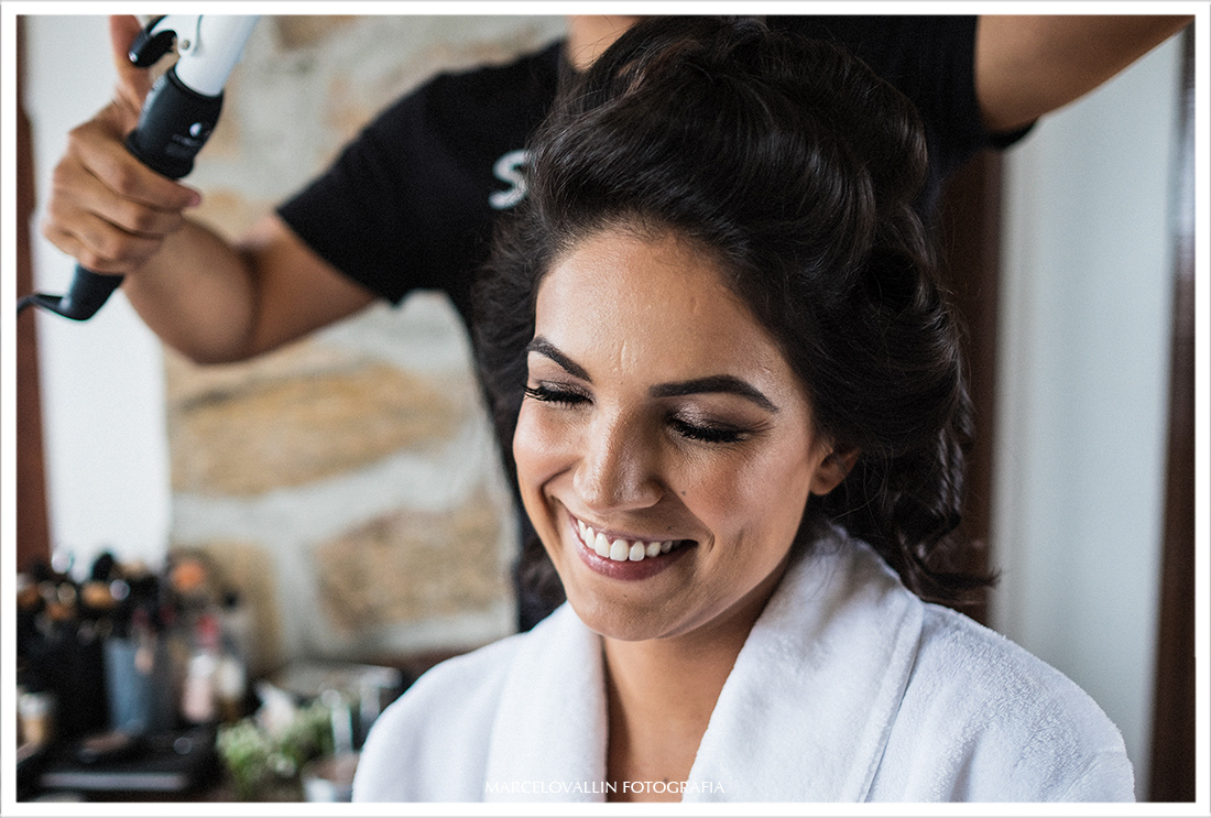 Foto do Making of da Noiva Thabata em Arraial do cabo