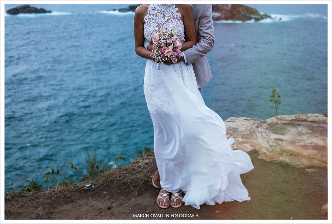 Ensaio Pós casamento no Mirante em Arraial do Cabo