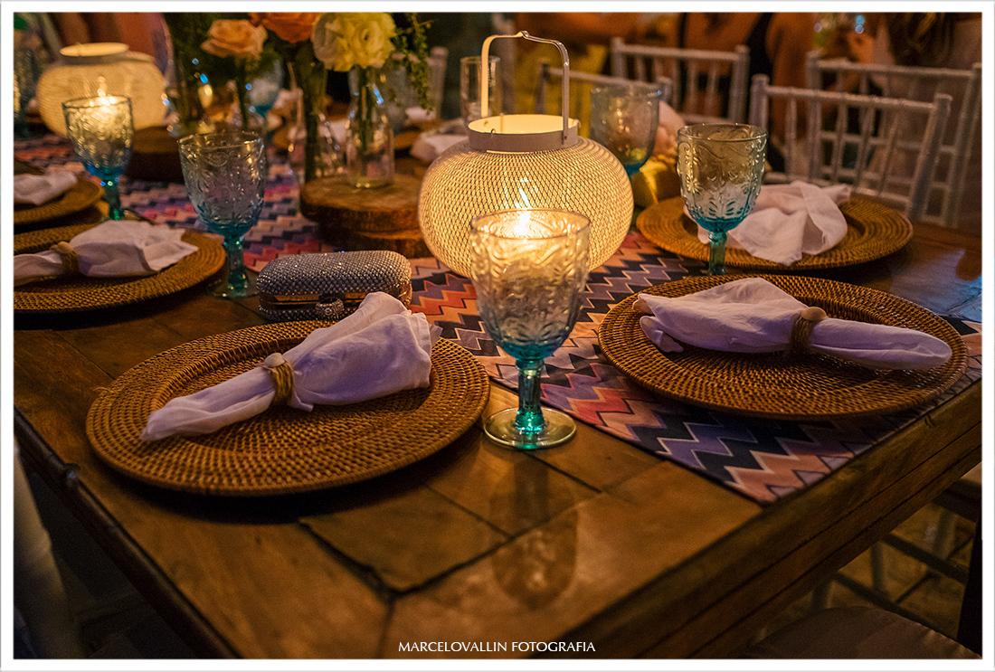 Fotografia de decoração de festa de casamento
