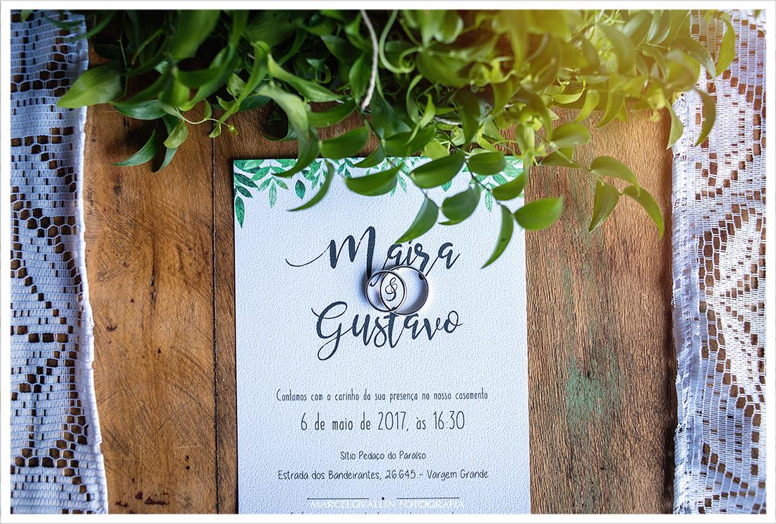 Casamento rj - Sítio Pedaço do Paraíso - Maíra e Gustavo