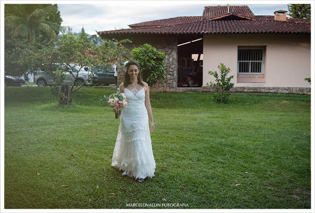 Casamento no Campo RJ, noiva no campo