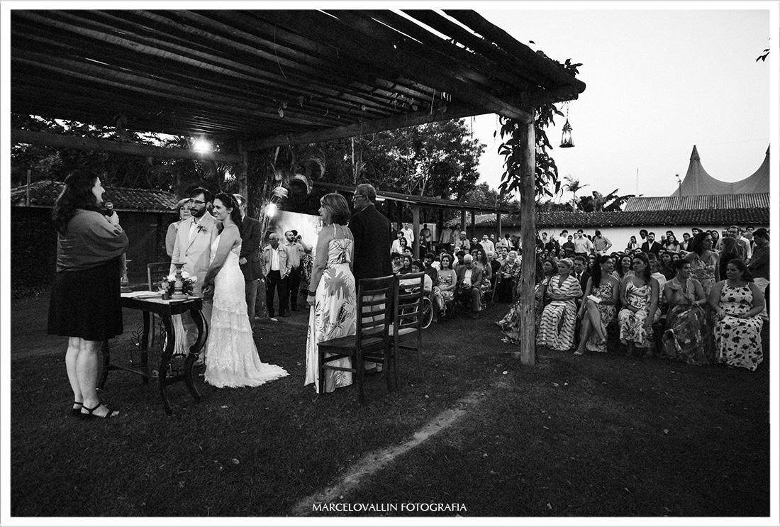 Foto de cerimonia de casamento Sitio Pedaço do Paraíso