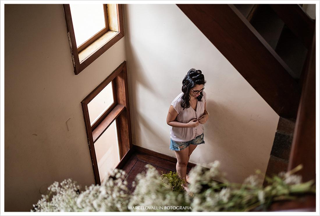 Noiva no preparativo para casamento