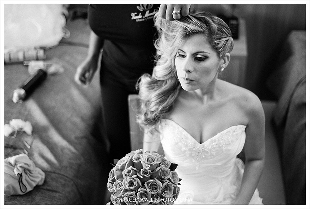 Foto de Casamento - making of noiva