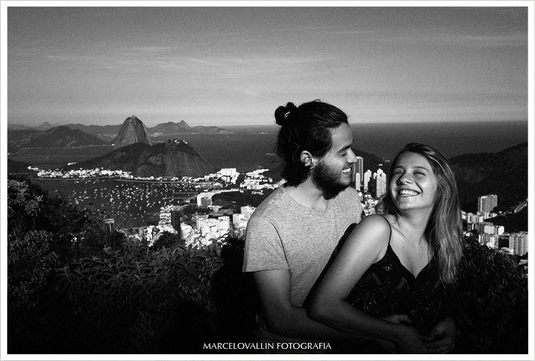 foto de ensaio pré casamento Mirante Dona Marta RJ
