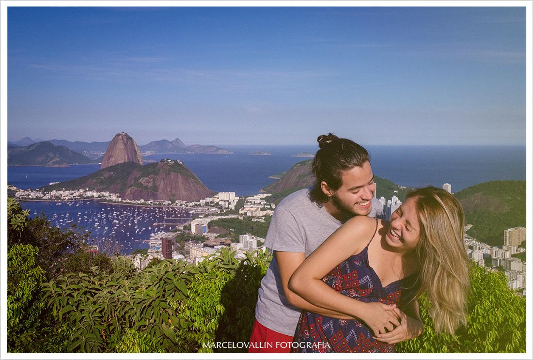 Fotografia de ensaio Casal no Rio de Janeiro, Mirante do Dona Marta