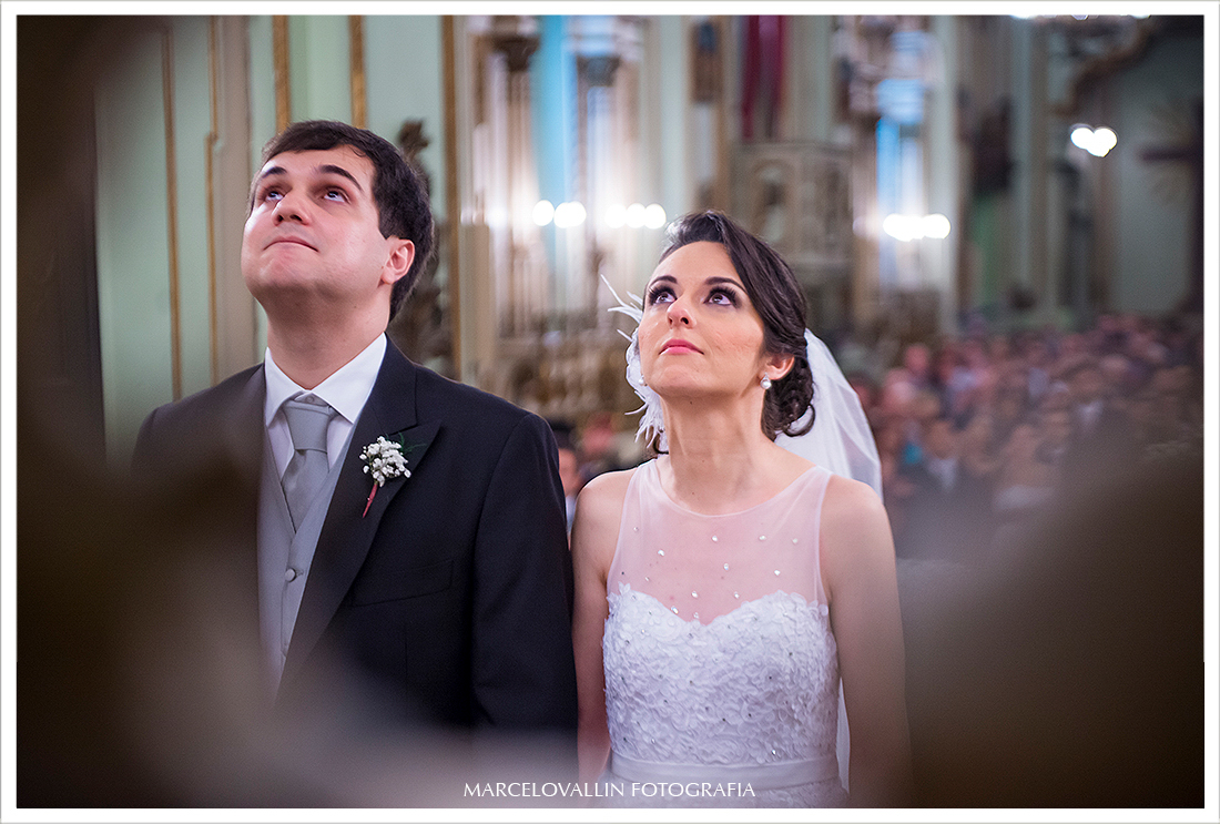 Momeno de oração em cerimonia de Casamento