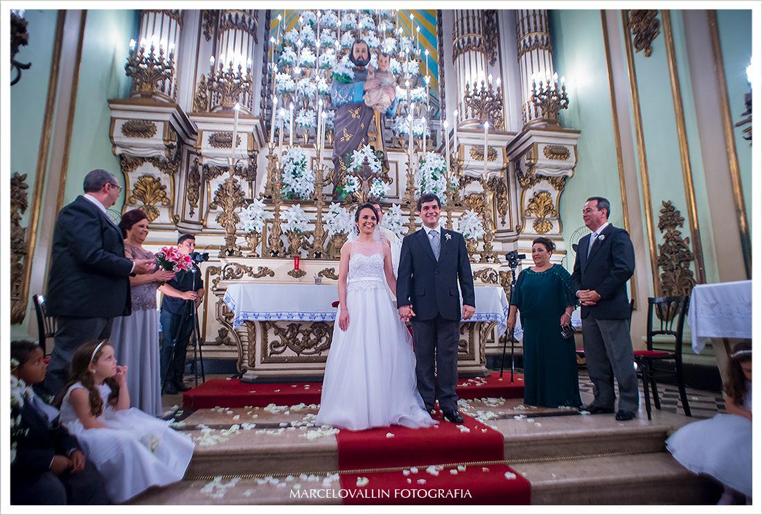 Foto de Casamento - Saída dos noivos