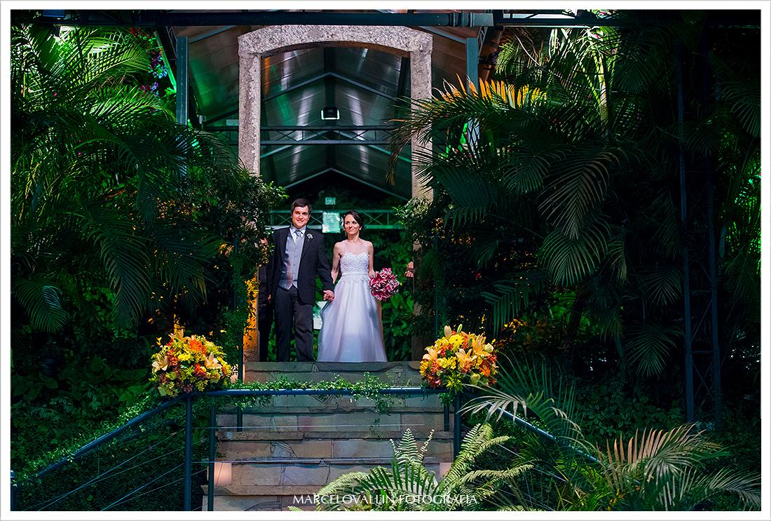 Chegada dos noivos - Quinta do Chapecó