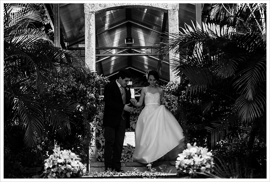 foto da chegada dos noivos - Quinta do Chapecó
