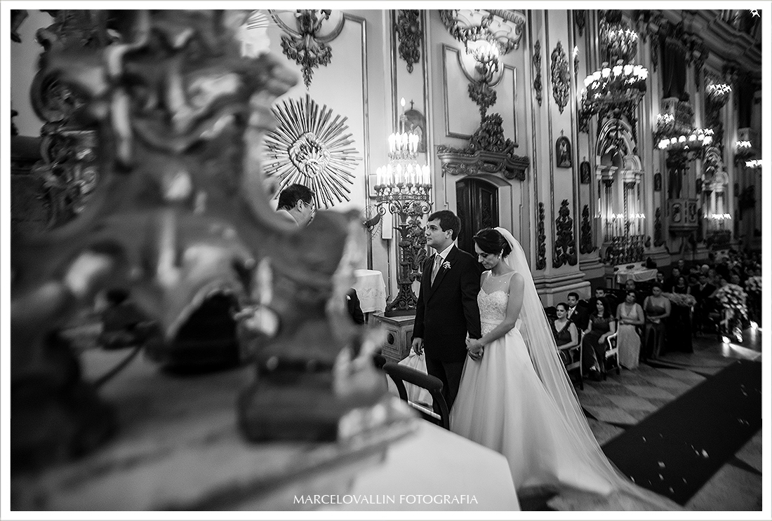 Foto de Casamento - Noivos no altar
