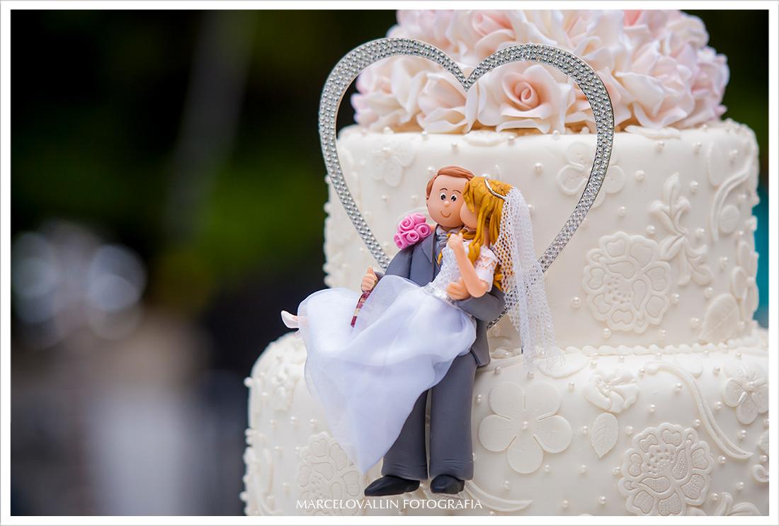 Foto de Casamento RJ - Decoração de Casamento - Bolo de Casamento