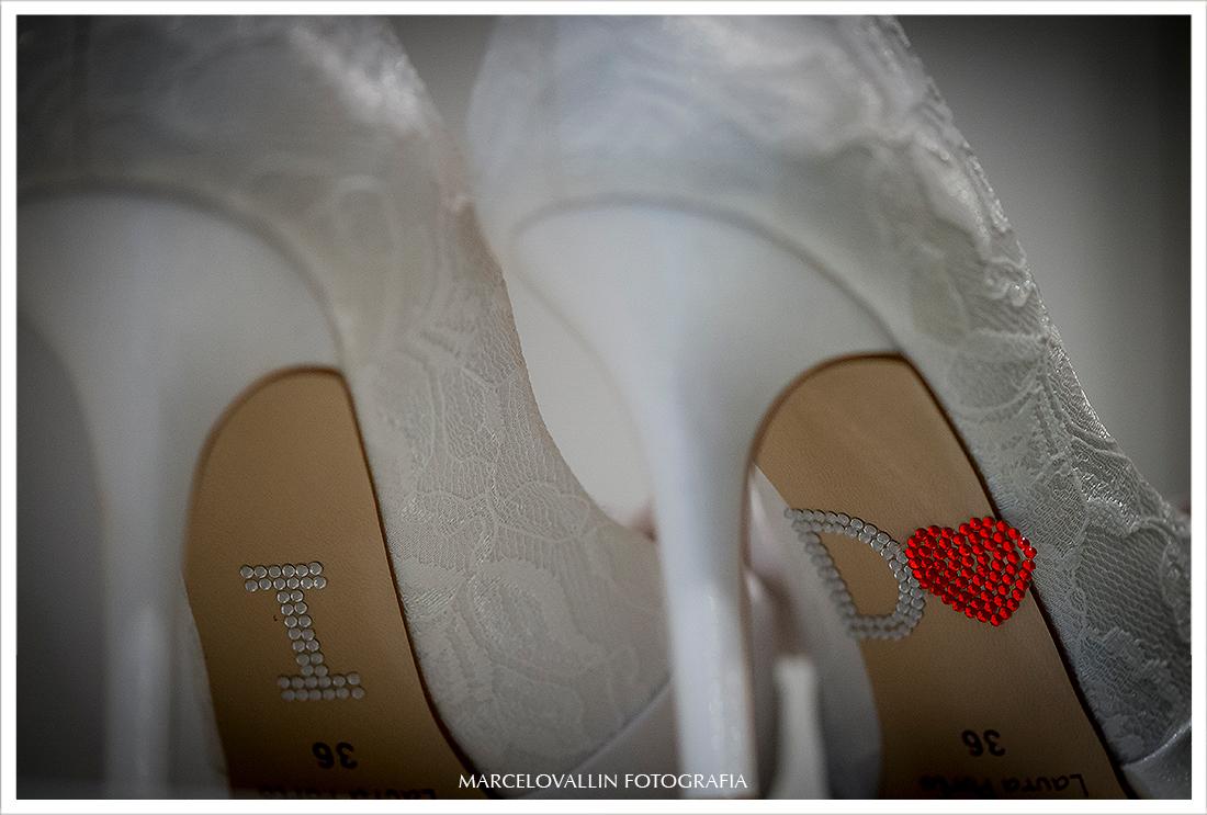 Foto de Casamento RJ - Sapatos Noiva