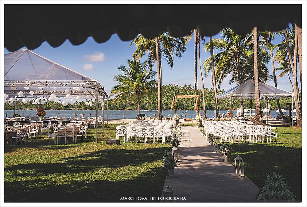 Fotografia de Casamento - Decoração de casamento estilo Rustico - Praia dos Carneiros PE