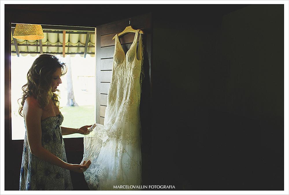 Fotografia de Casamento rj - noiva com Vestido - Praia dos Carneiros
