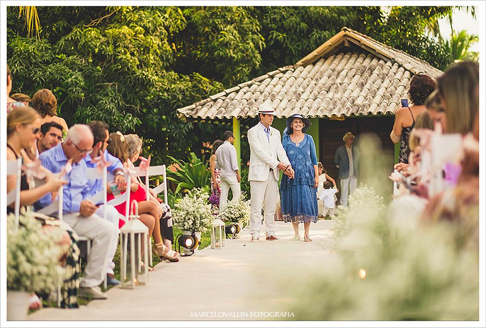 Fotografo de Casamento RJ - Cerimonia de casamento estilo Rustico - Praia dos Carneiros PE