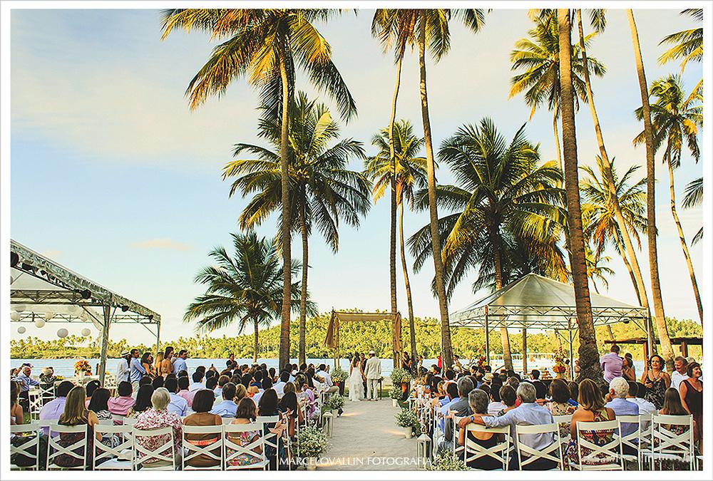 Foto de Casamento - Cerimonia - Praia dos Carneiros PE