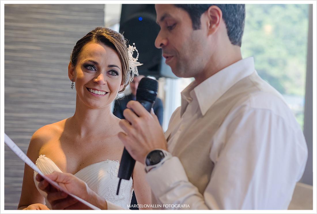Cerimonia de casamento hotel Sheraton - São Conrado