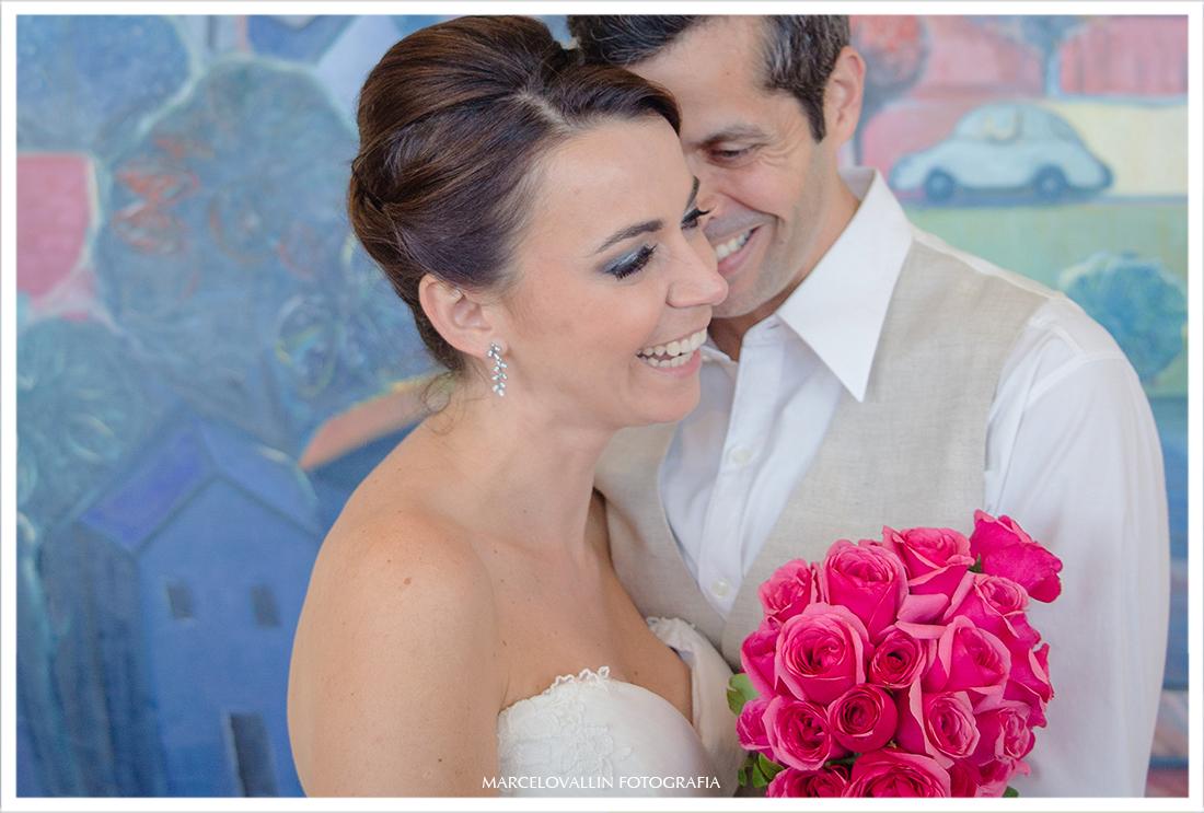 Sessão fotos casal pós cerimonia de casamento