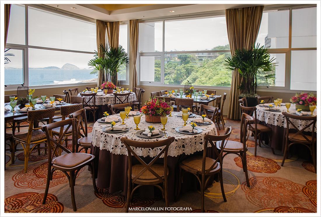 Decoração Mini wedding hotel sheraton